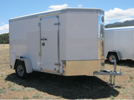 6′ x 10′ Enclosed Utility Trailer