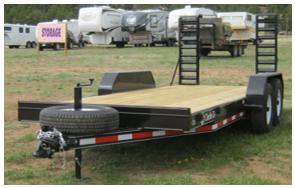 "18' Flatbed or Carhauler – ""The D"""