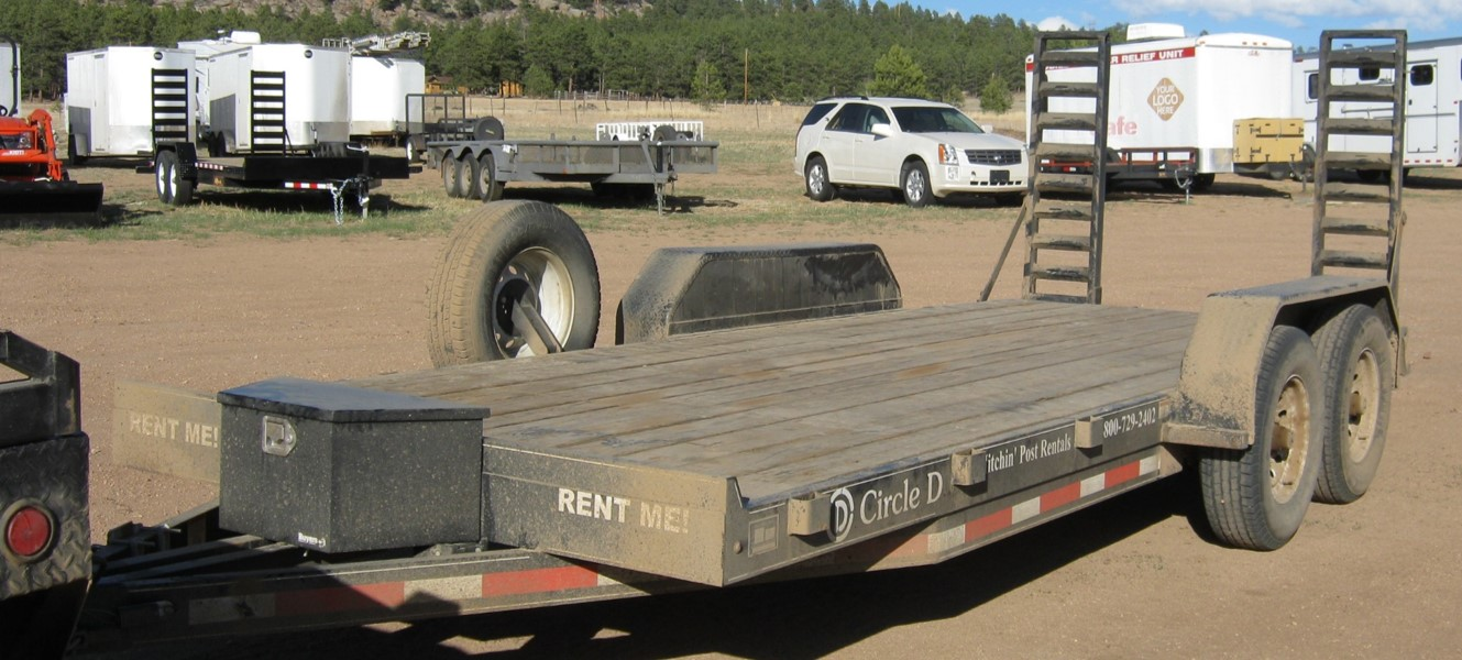 """18' Flatbed or Carhauler – """"The D"""""""