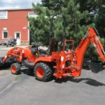 CK3510 Compact Tractor, Front Loader and Rear Backhoe